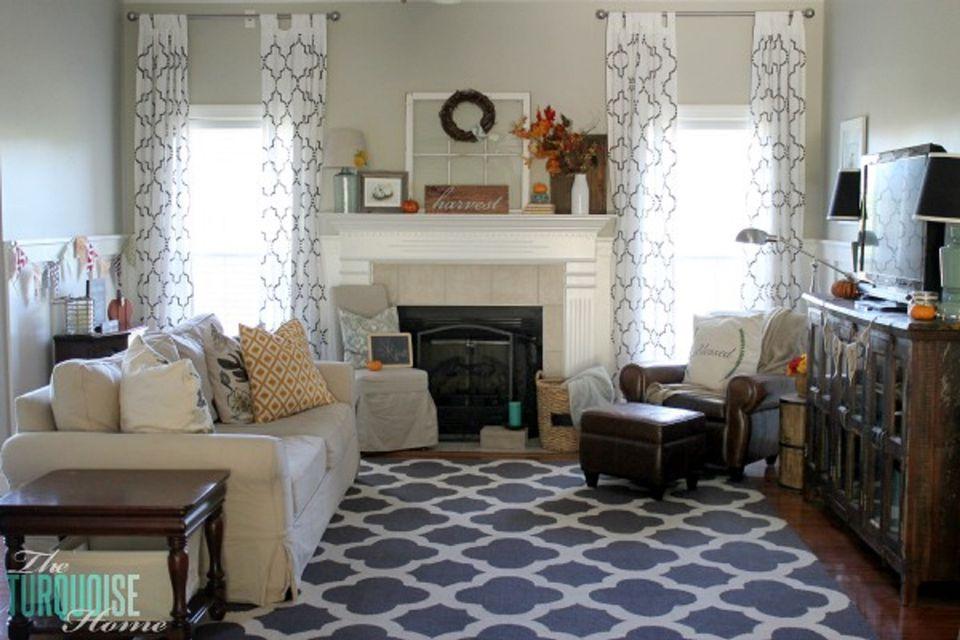 Tis Autumn Living Room Fall Decor Ideas: 24 Creative Fall Harvest Home Decor Ideas