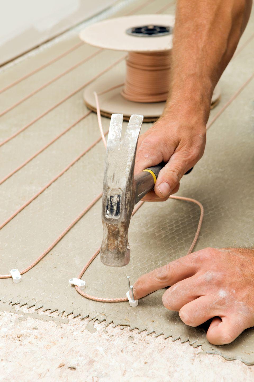 installing radiant heating subfloor