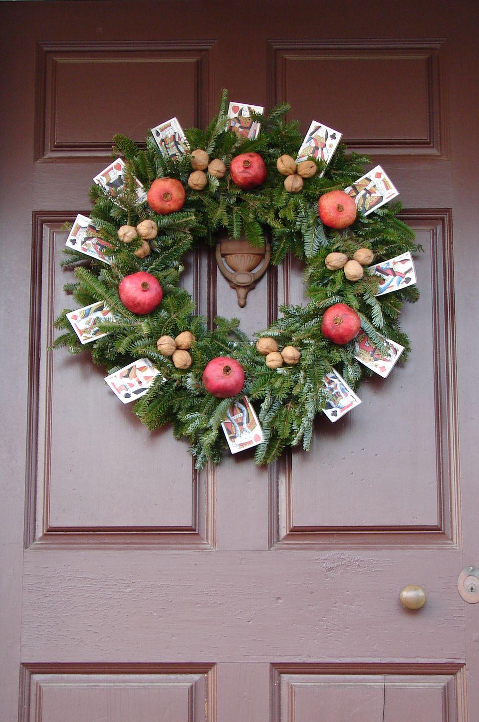 Unique christmas decorations - Unique Christmas Wreath