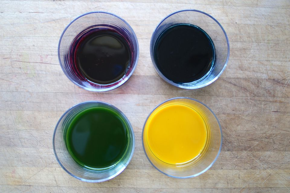 DIY Natural Food Dyes