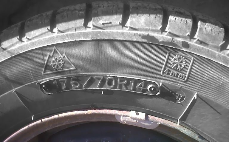 Mountain snowflake tires
