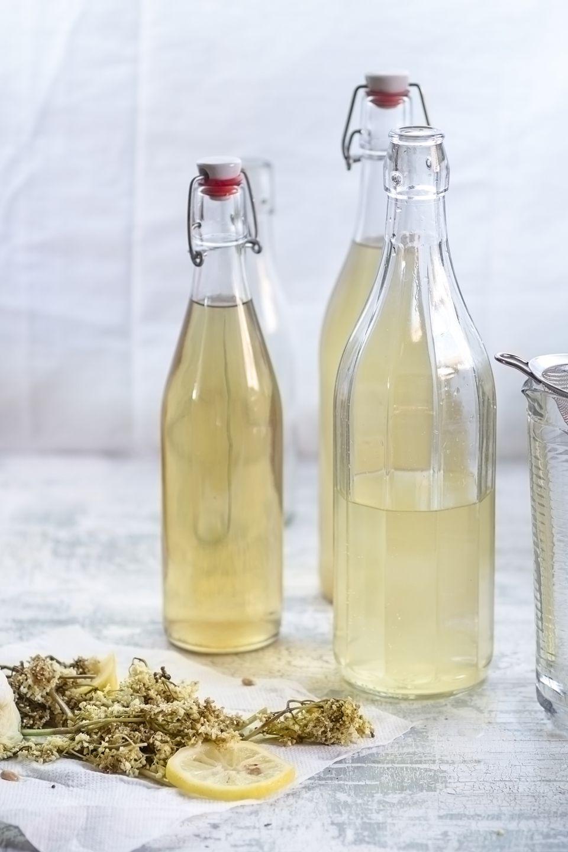 bottles of liqueur