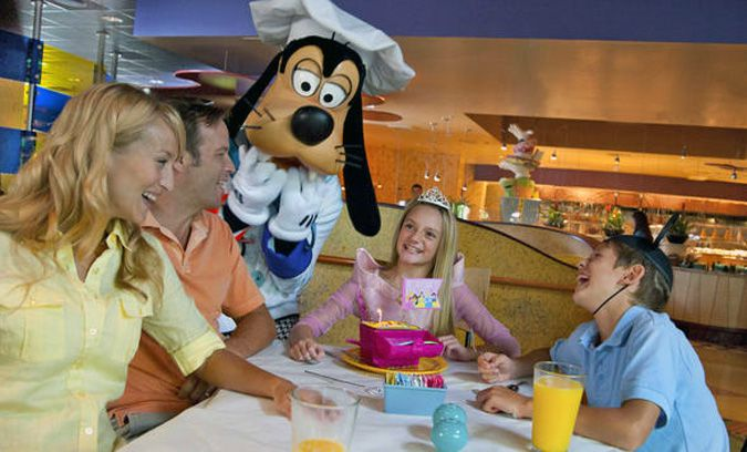 Goofy's Kitchen Disneyland restaurant