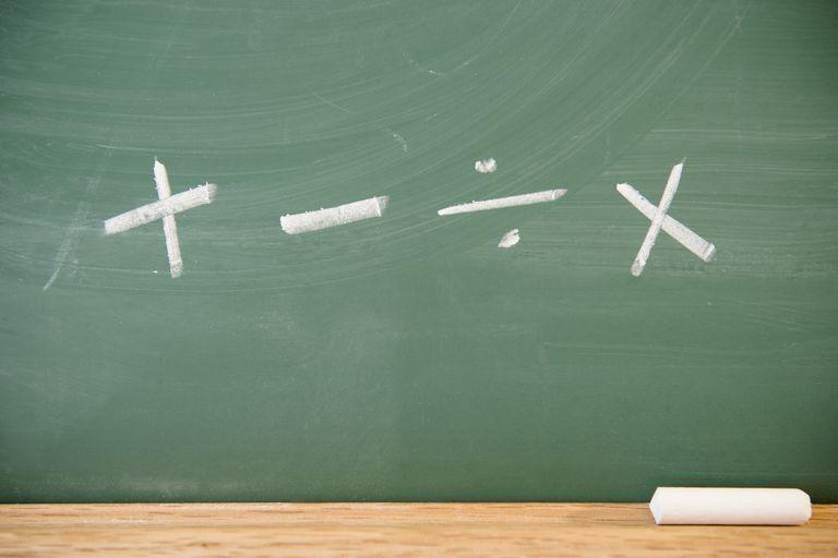 symbols of arithmetic