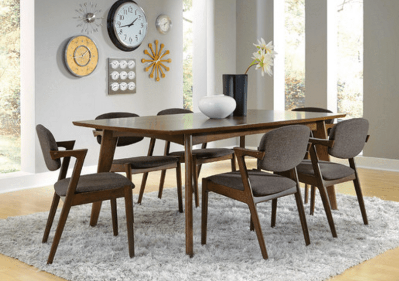 How To Decorate A Mid Century Modern Room Dining Table