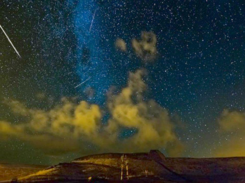 Perseid Meteor Shower, Hawaii