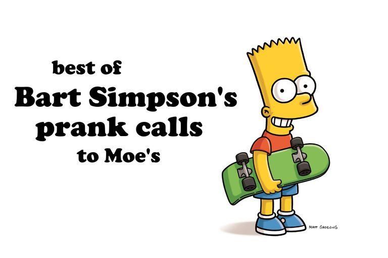 Best of Bart Simpson's Prank Calls to Moe's