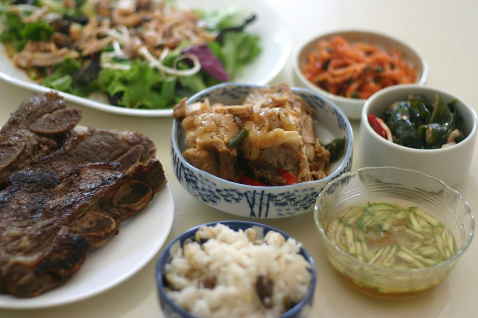 Full Korean Breakfast