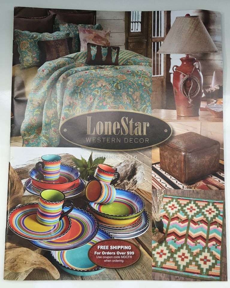 The cover of the LoneStar Western Decor catalog.