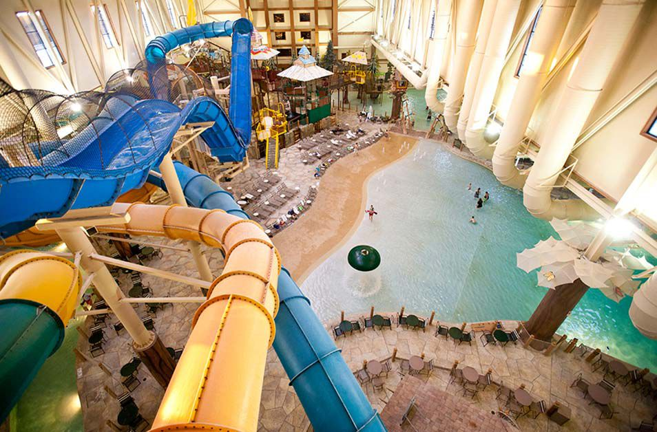 Great Wolf Lodge At Kings Island Indoor Water Park Fun