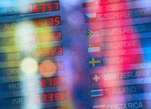 New York City, Digital trading board