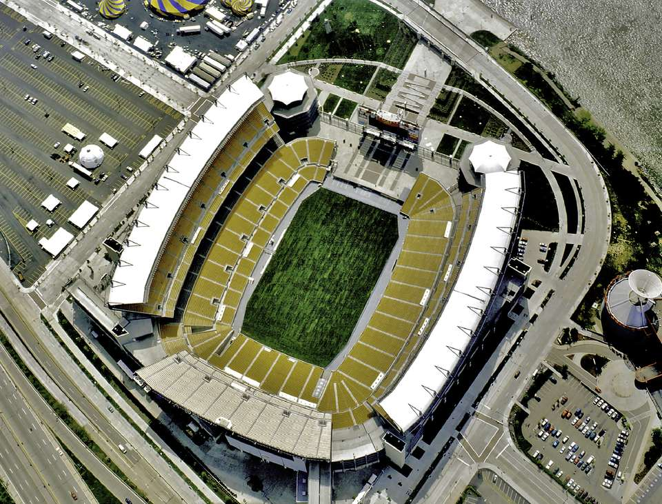 Aerial view of Heinz Field