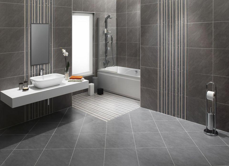 bathroom with stone floor - Bathroom Tiles Natural Stone