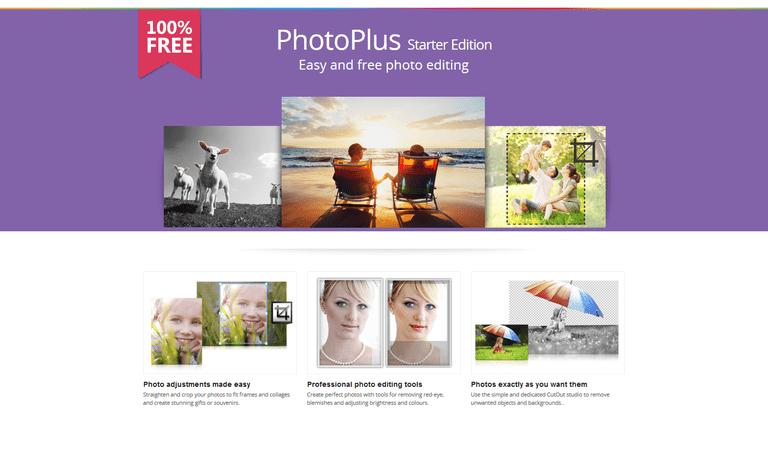 Serif PhotoPlus SE Free Photo Editor