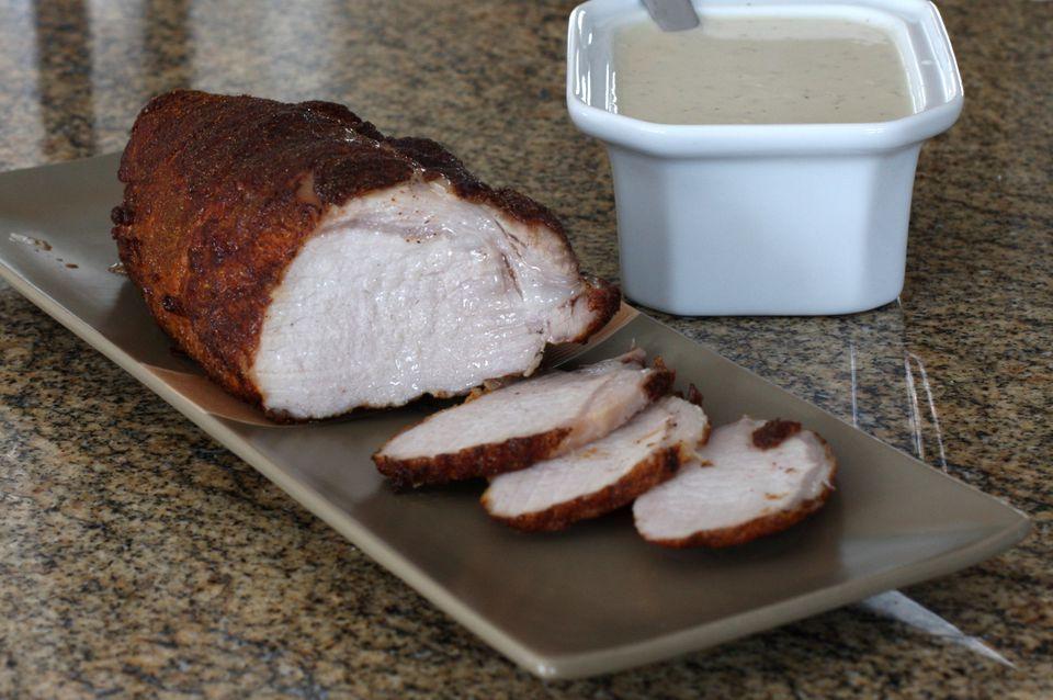 spiced pork loin roast
