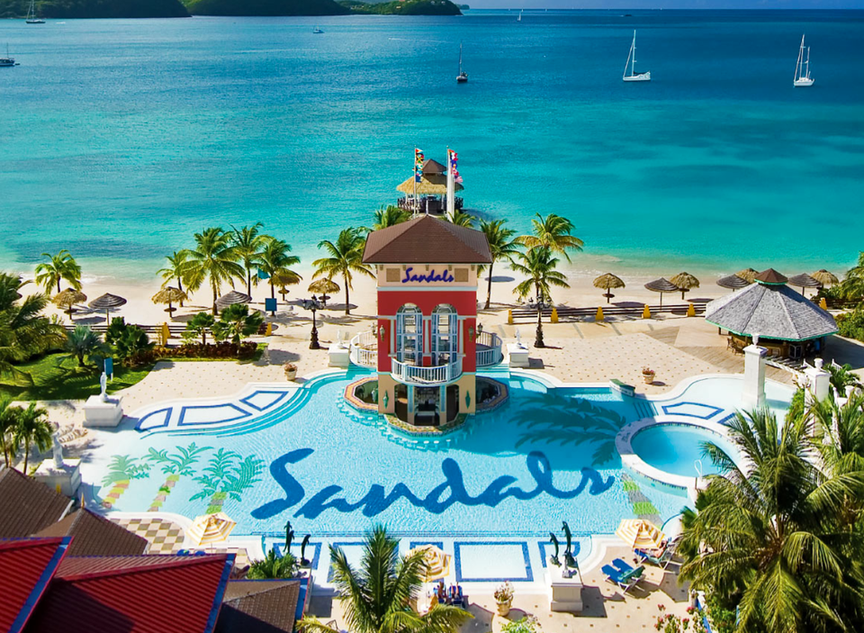sandals grand St. Lucia