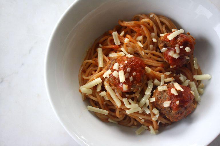 Gluten-Free Spaghetti and Meatballs