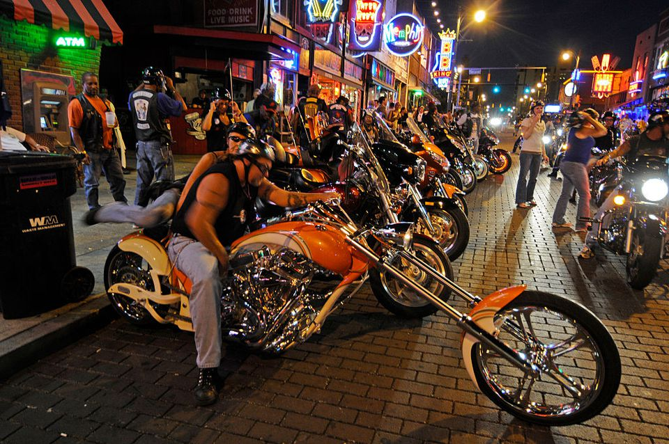 Beale Street Bike Night
