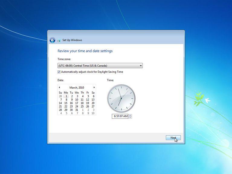 Windows install date in Brisbane