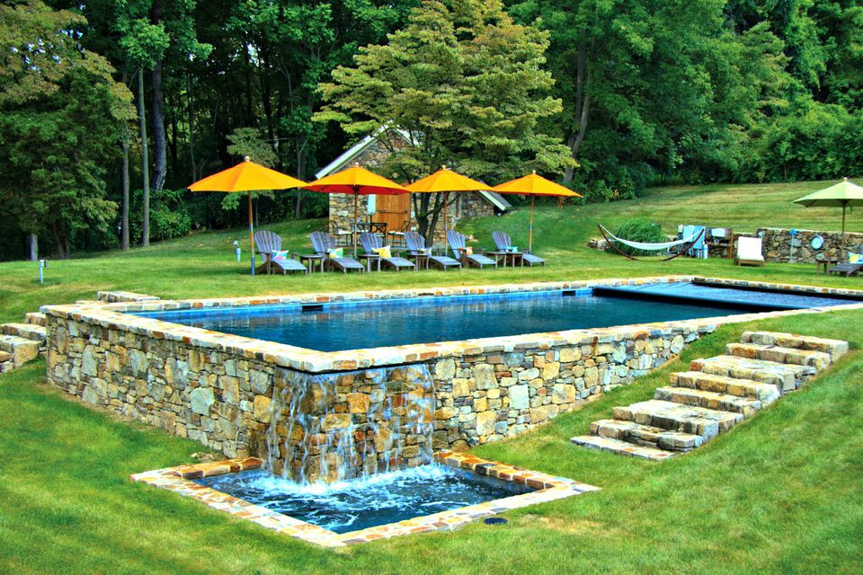Rectangular pool designs and shapes for How to design a pool