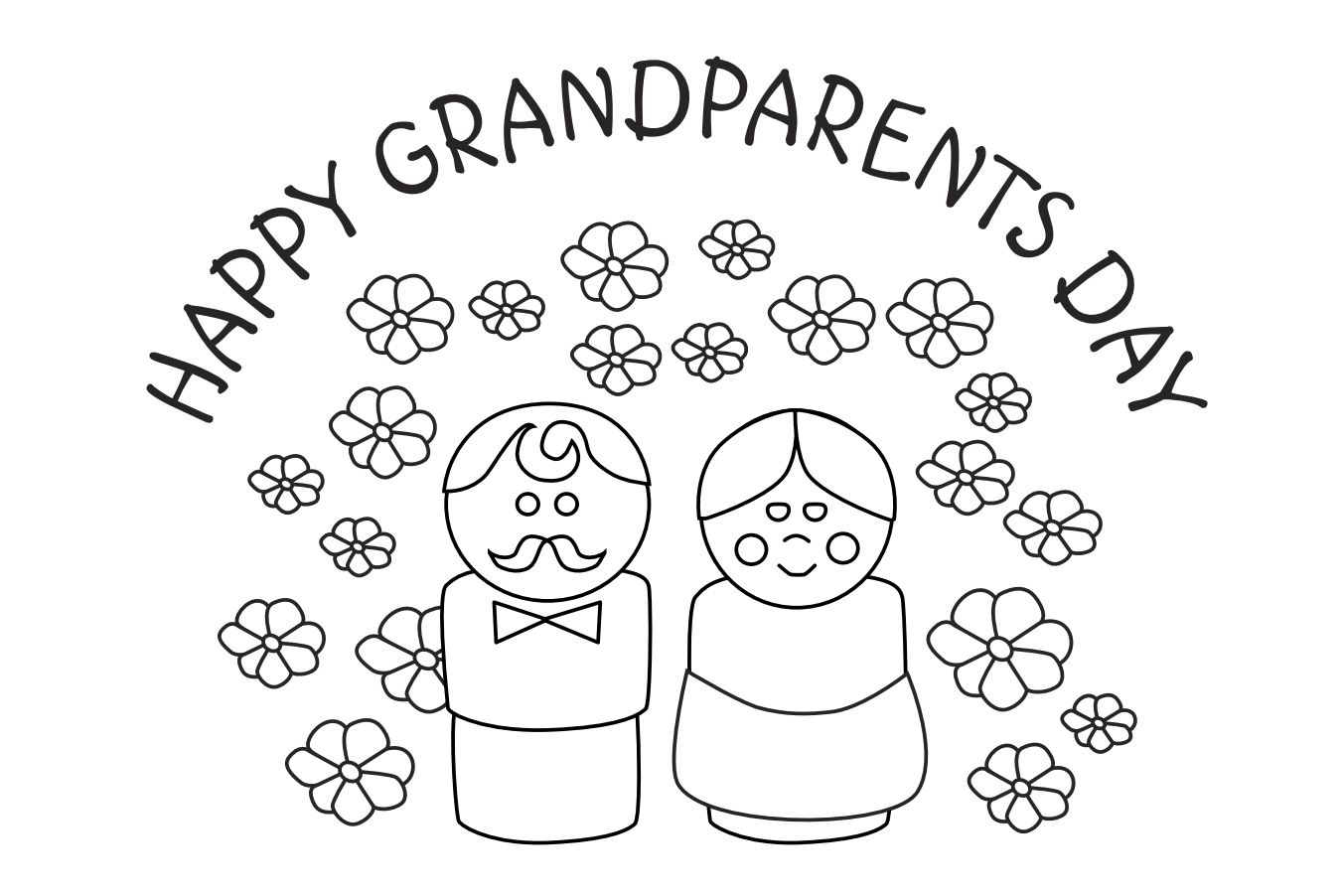 Free coloring pages grandparents day - Free Coloring Pages Grandparents Day 35