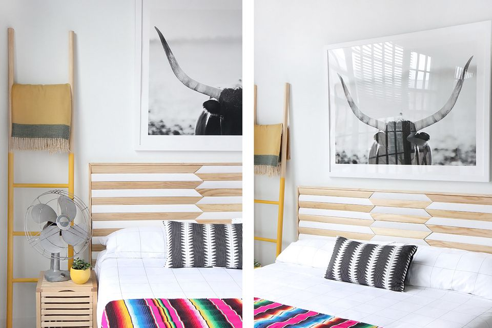 Geometric-headboard-diy