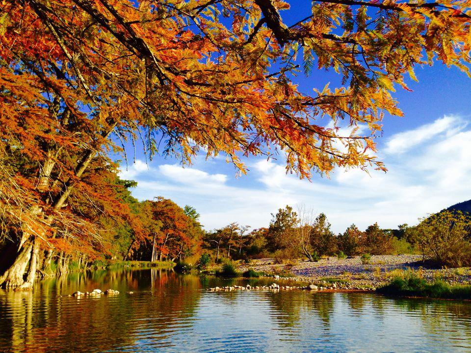 Rio Frio River. Garner State Park. Texas