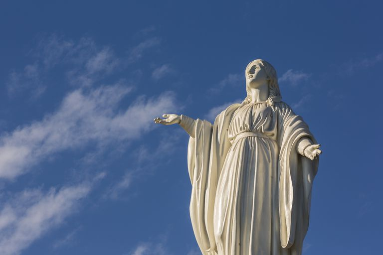 Statue of the Virgin of the Immaculate Conception