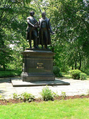 Cleveland Cultural Gardens - German Garden - Cleveland Ohio