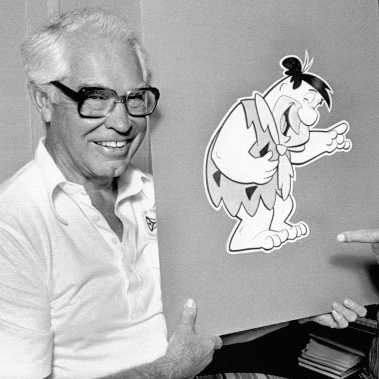 Fred Flintstone y William Hanna