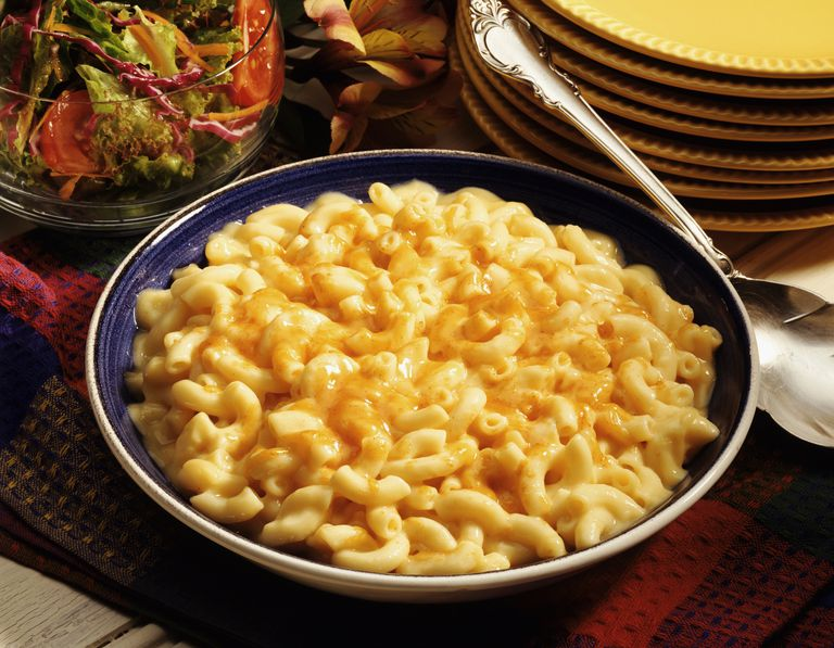 Macaroni and Cheese in a Serving Bowl