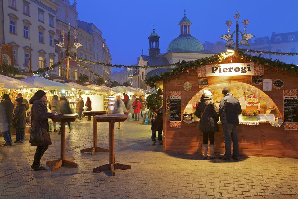 Krakow's Christmas market