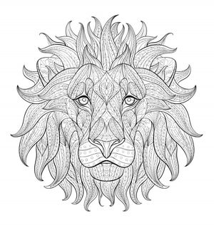 loner wolfs free coloring pages for adults - Downloadable Coloring Pages