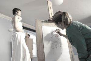 Art Modeling - Model for Art Classes