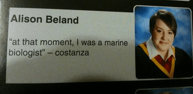 Hilarious yearbook quotes that belong a hall of fame yearbook quotes costanzag urtaz Choice Image