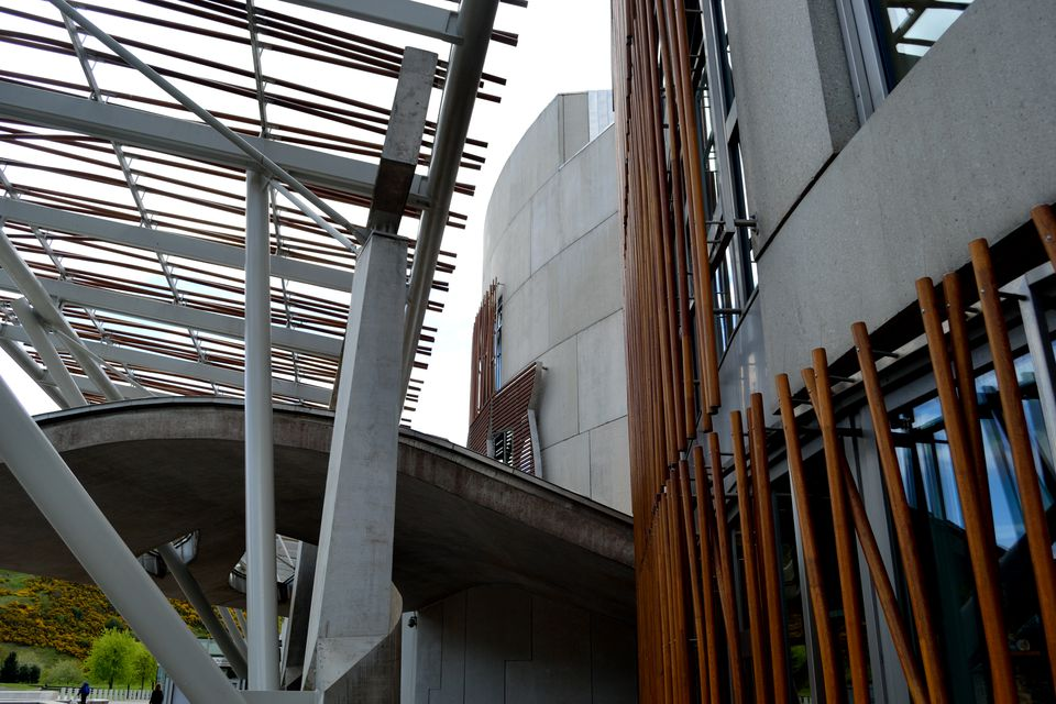 Scottish Parliament- Exterior