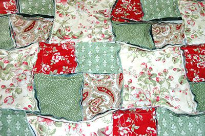 Easy Double Four Patch Rag Quilt Pattern : rag quilt patterns - Adamdwight.com