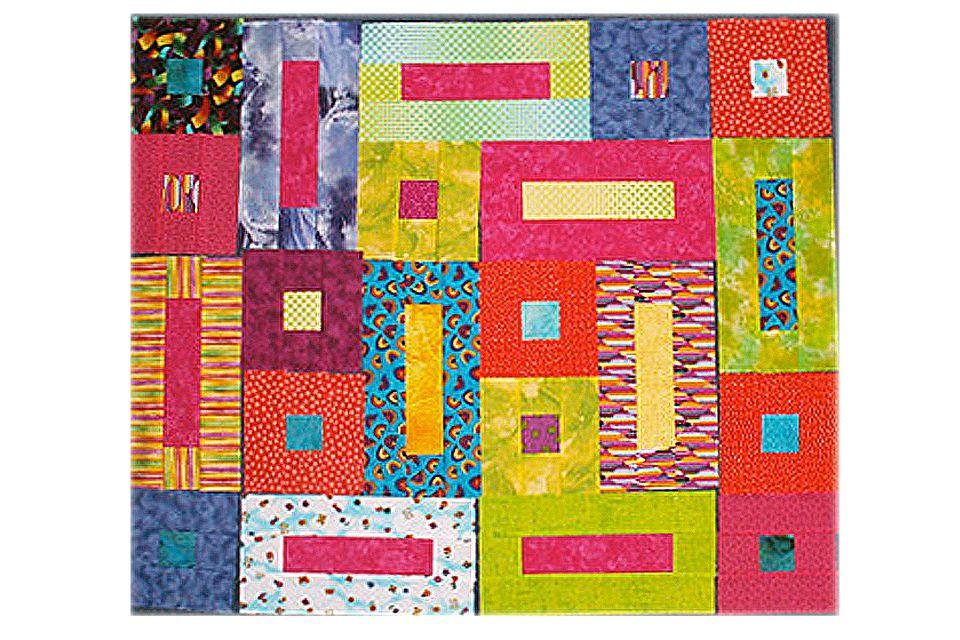 Bricks and Cobblestones Quilt Blocks