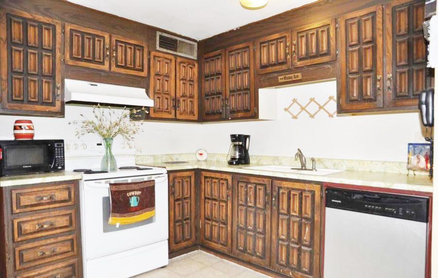 Ugly Kitchen Cabinets Makeover
