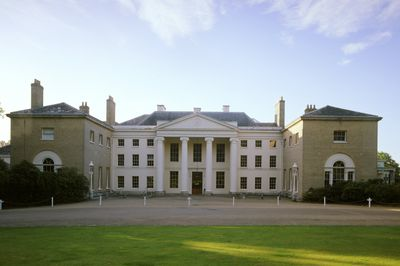 North Portico At Kenwood House In London Neoclassical Remodel By Robert Adam C 1770