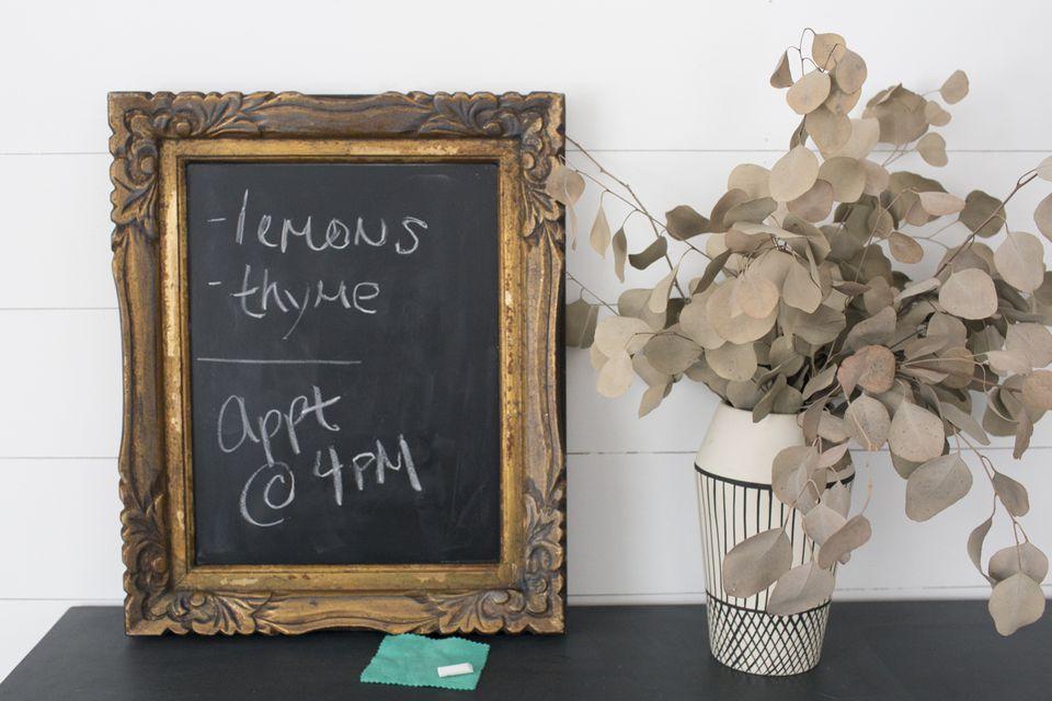 mirror chalkboard