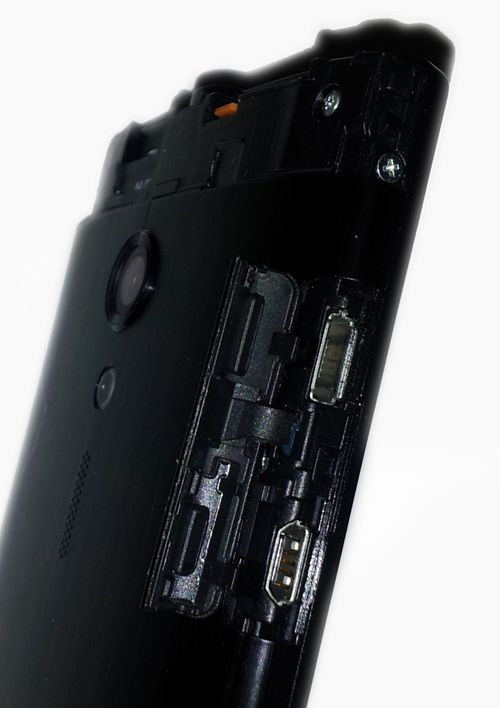 Puertos y slots de un smartphone