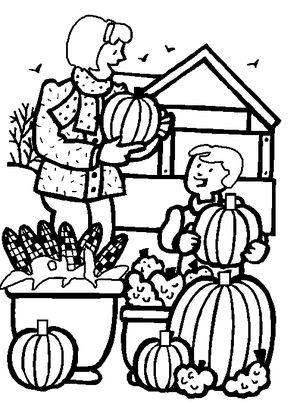 dltks fall coloring pages - Fall Coloring Page