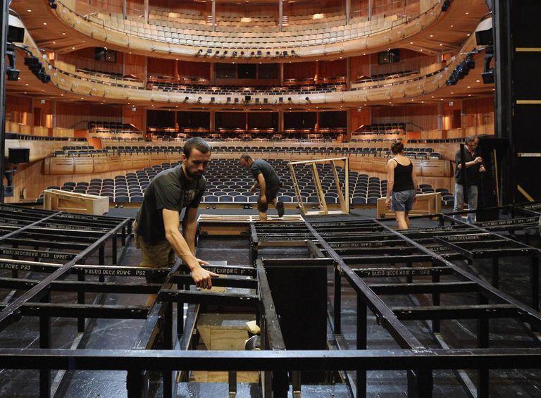 Behind The Scenes At Glyndebourne Opera As The 2013 Season Ends