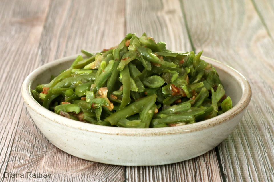 Tangy Green Beans With Bacon