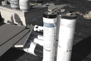Built-up roofing