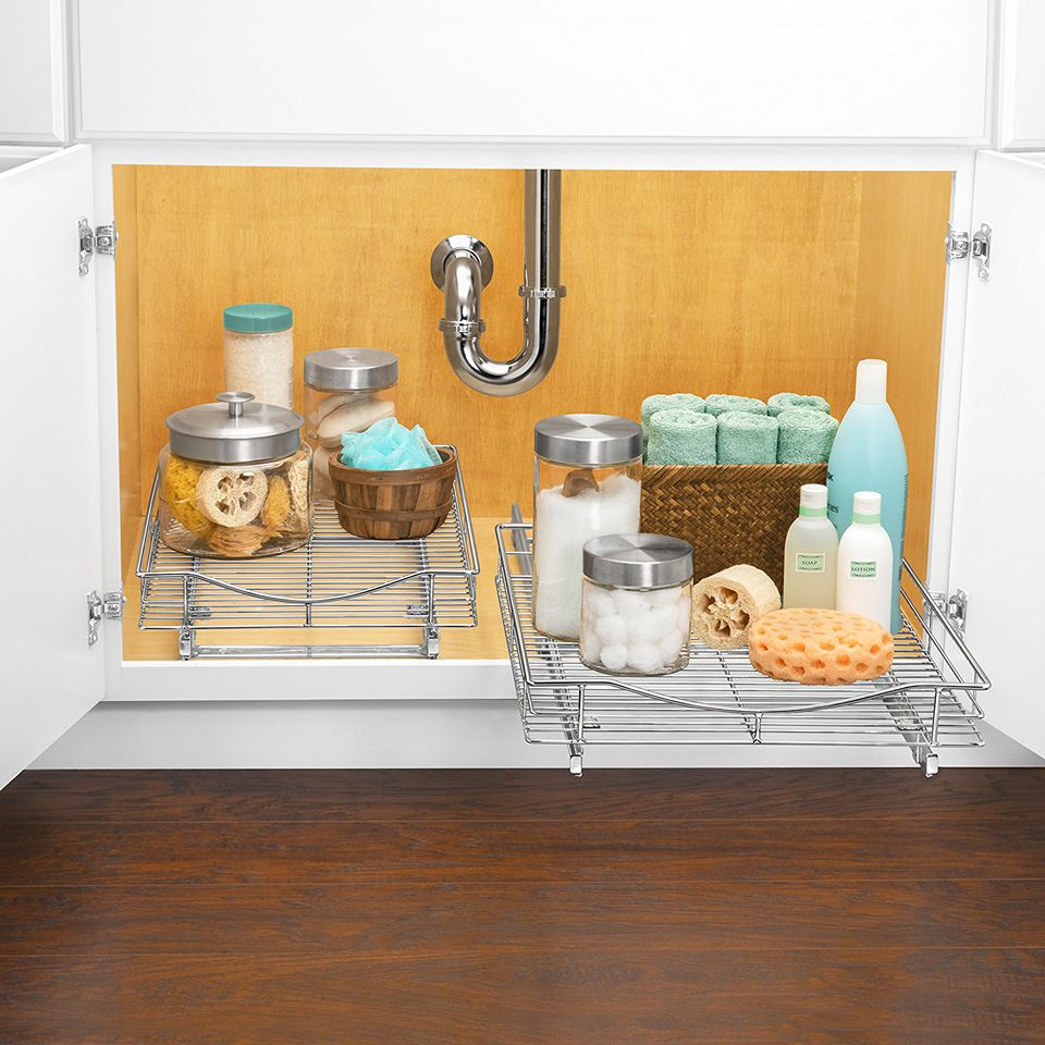 The Ideal Kitchen Under Sink Drawers: The 7 Best Under-Sink Organizers To Buy In 2018
