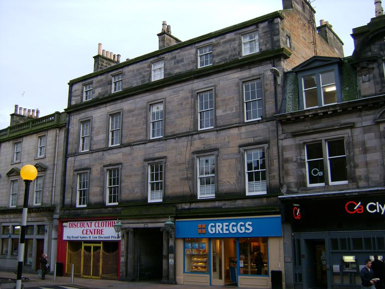 The site where Adam Smith wrote The Wealth of Nations