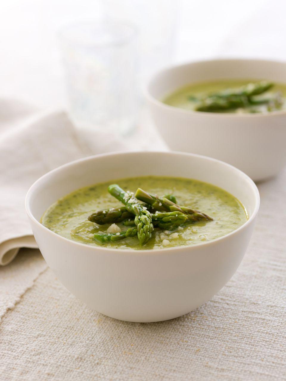 Aspargus soup