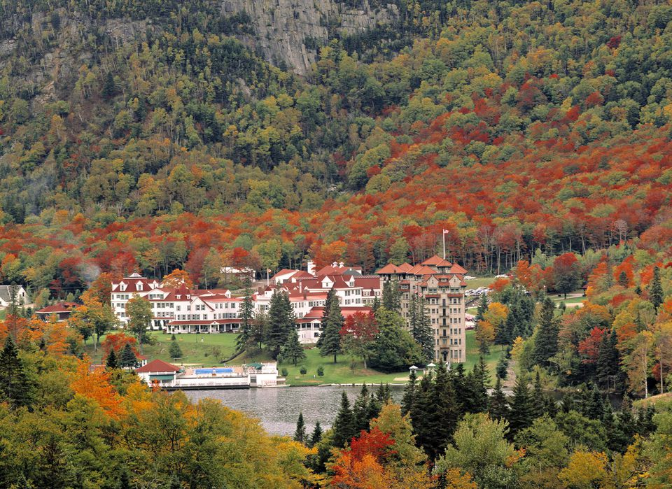 The Balsam's Resort in New Hampshire.